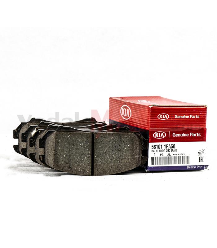 لنت ترمز توسان-لنت ترمز جلو-Genuine Parts-جنیون پارتس-581011FA50-yadakMALL