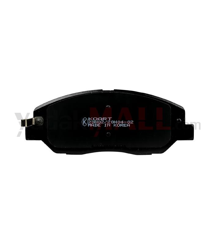 لنت ترمز جلو آوانته کوارت-برند KOART-شماره فنی SP 1155-سایت yadakMALL