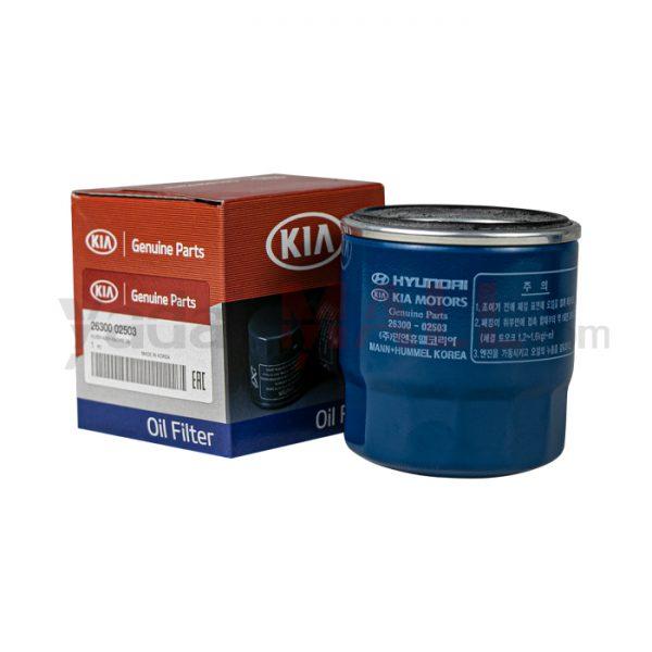 فیلتر روغن هیوندای و کیا-yadakMALL-2630002503-Genuine Parts