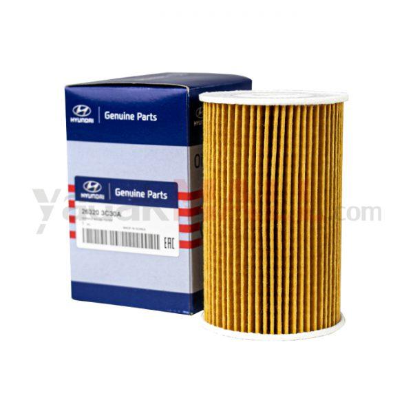 فیلتر روغن جنسیس، سنتنیال، سورنتو و آزرا-yadakMALL-263203C30A-Genuine Parts