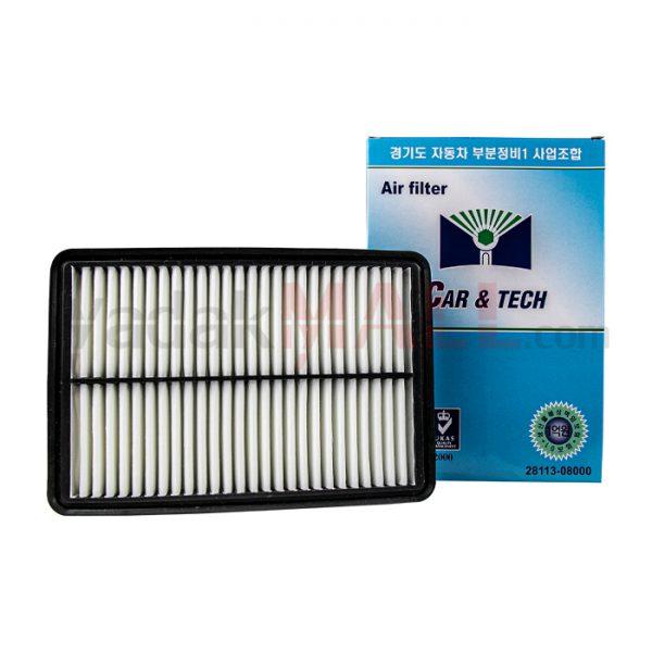 فیلتر هوای سراتو قدیم توسان و اسپورتیج 2008 تا 2010-فیلتر هوای موتور-yadakMALL-2811308000-KOREAN