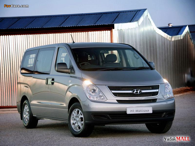نمای جلو نسل دوم هیوندای اچ وان Hyundai H1 TQ