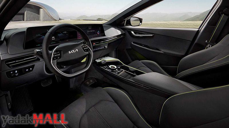 کیا EV6 طراحی داخلی از صندلی جلو yadakMALL